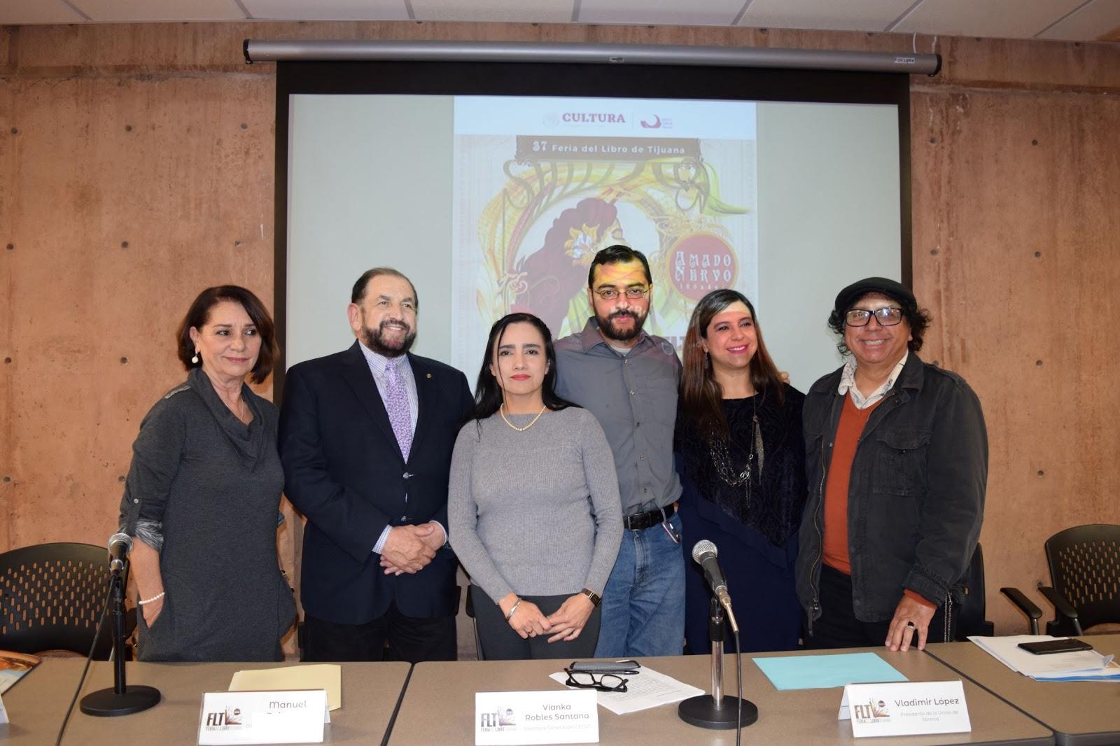 Planea el CECUT volver internacional la Feria del Libro de Tijuana a partir del próximo año: el 2020