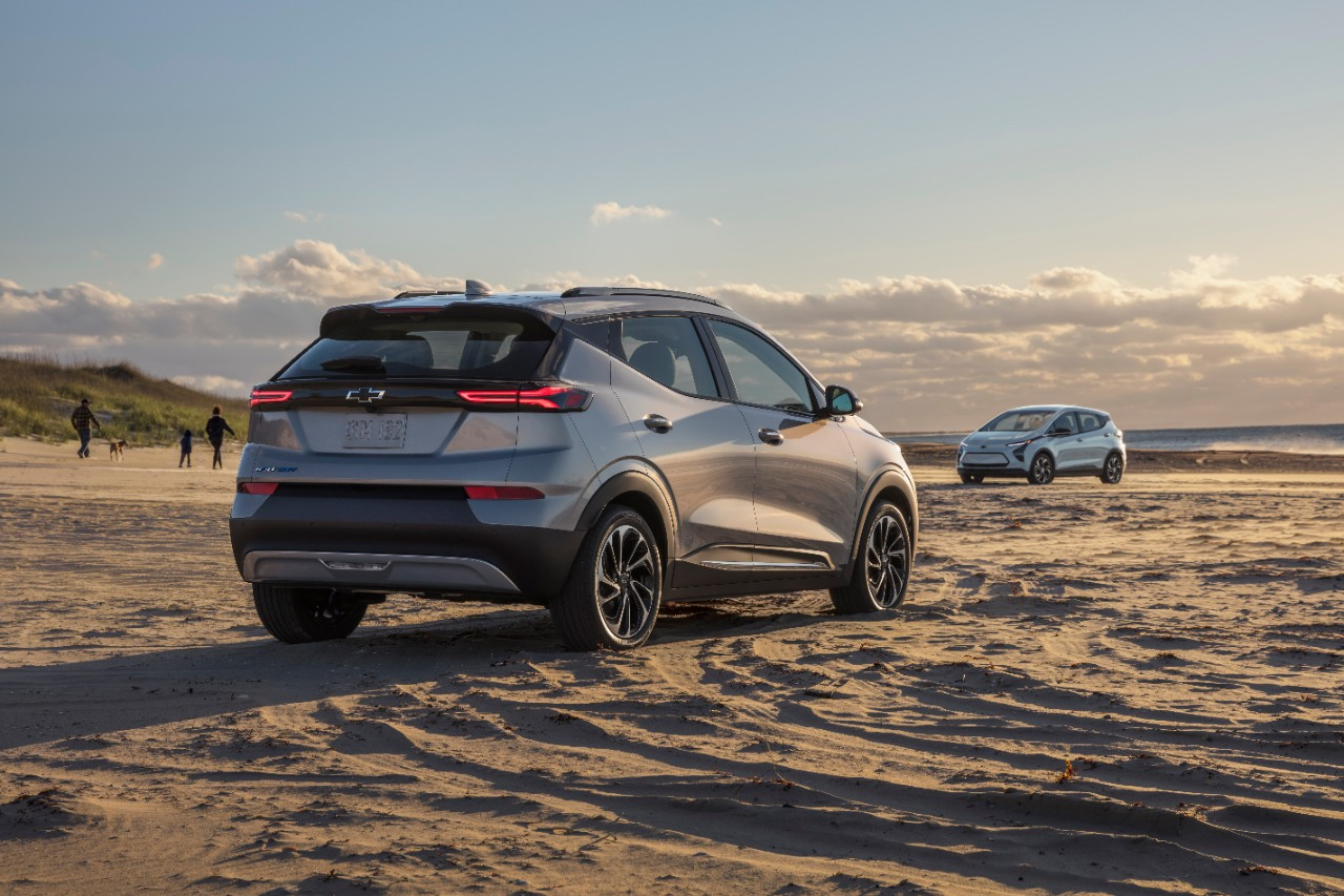 Chevrolet presentó una nueva familia de Bolt EV eléctricos