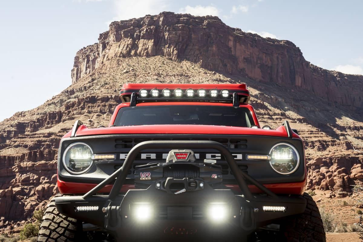 El Ford Bronco tendrá todo tipo de personalizaciones