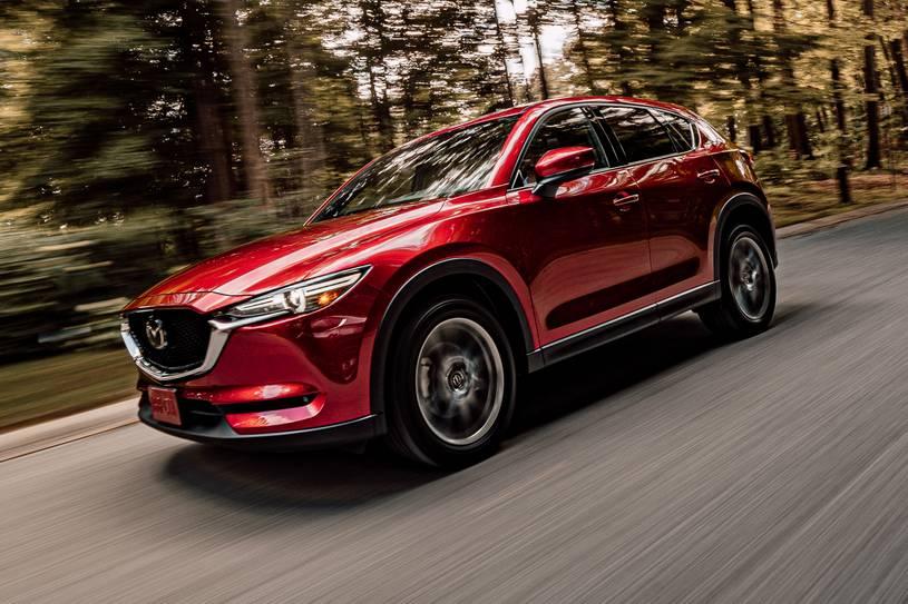 Mazda CX- 5 Signature del 2021, el crossover pequeño de mejor manejo