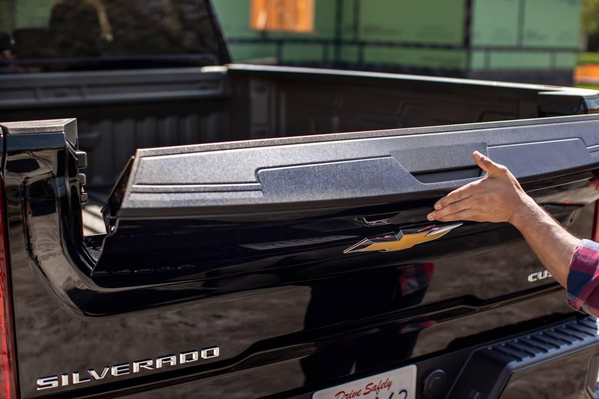 Chevrolet ofrecerá el Silverado HD del 2022 con una puerta trasera multi-flexible