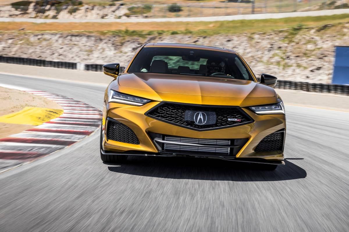 Hace su debut en público el nuevo Acura TLX Type S del 2021