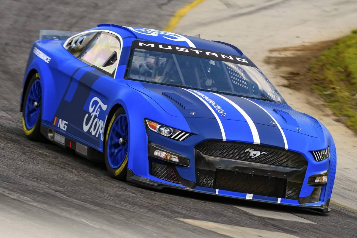 Ford mostró su nuevo NASCAR Next Gen Mustang del 2022