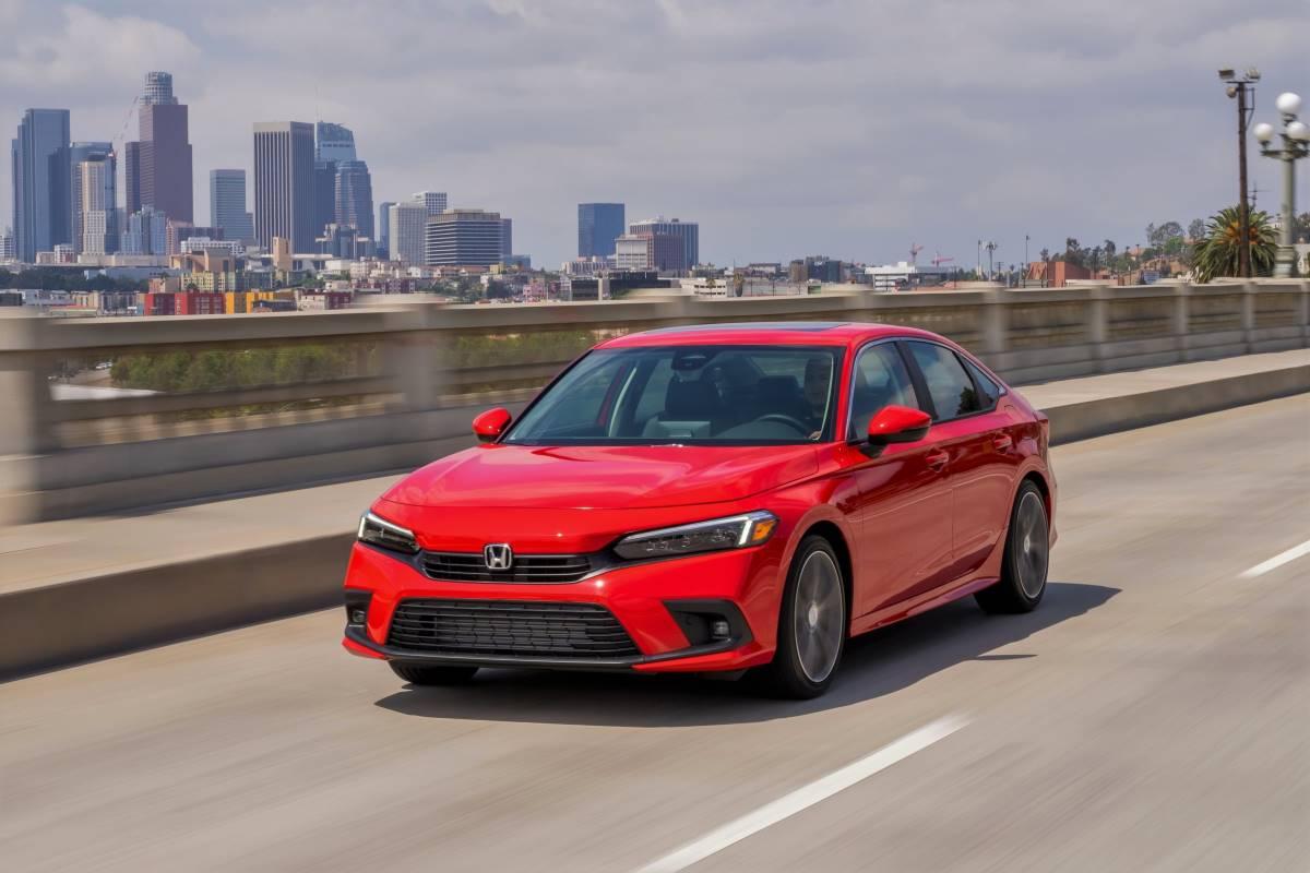 El nuevo Civic Sedan del 2022 esta llegando a los concesionarios Honda