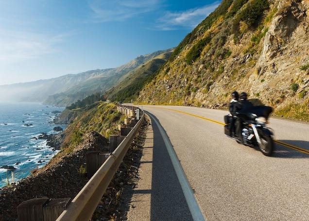 Cuales son las mejores carreteras de EE.UU. para recorrer en motocicleta