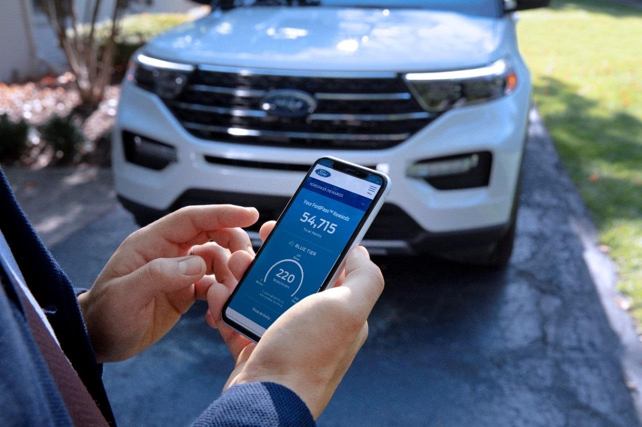 Ford Amplía el Servicio de Entrega a Domicilio y Añade Niveles al Programa de Fidelidad FordPass Rewards