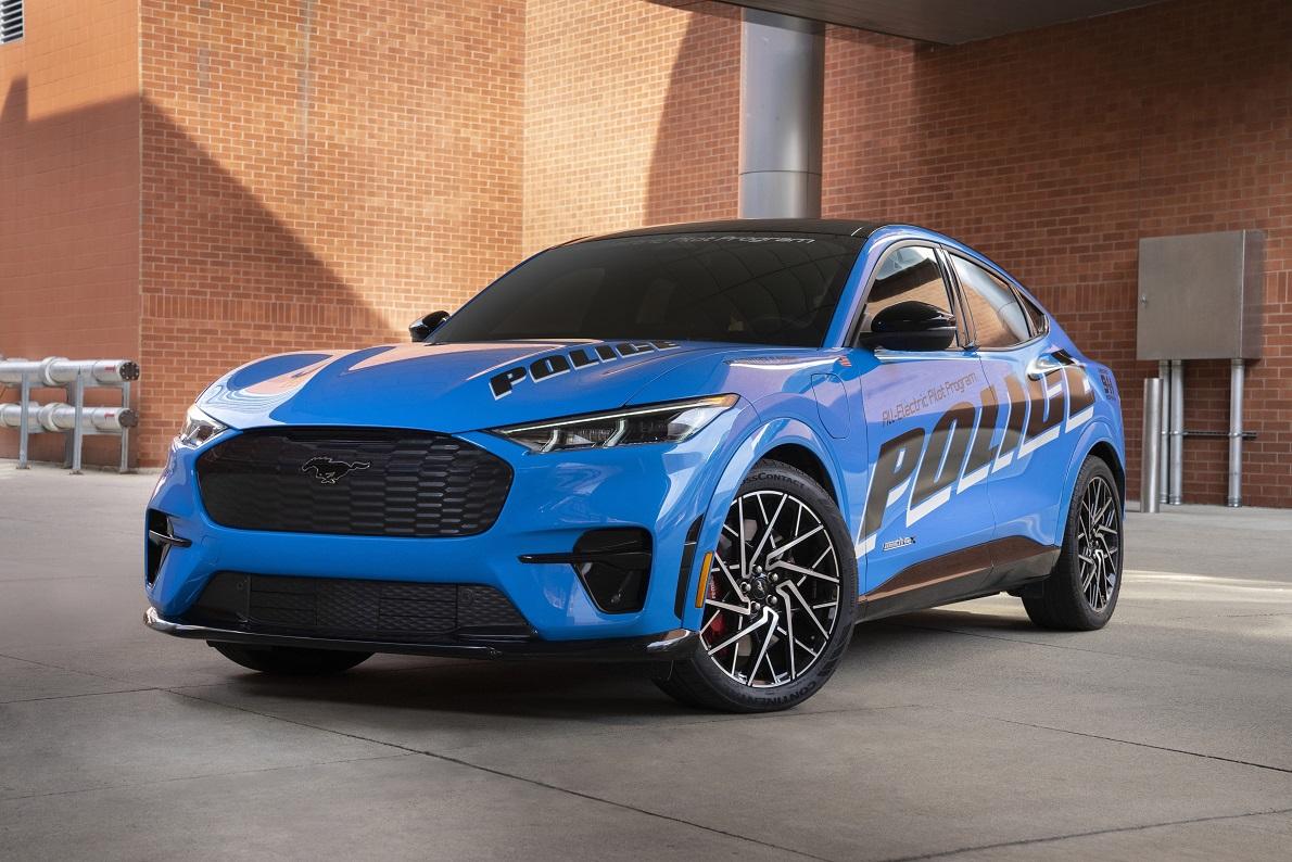Ford está presentando un concepto de vehículo policial para las fuerza del orden
