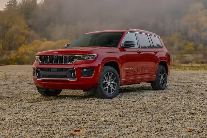 Jeep Grand Cherokee L del 2021, la comodidad es uno de sus puntos fuertes