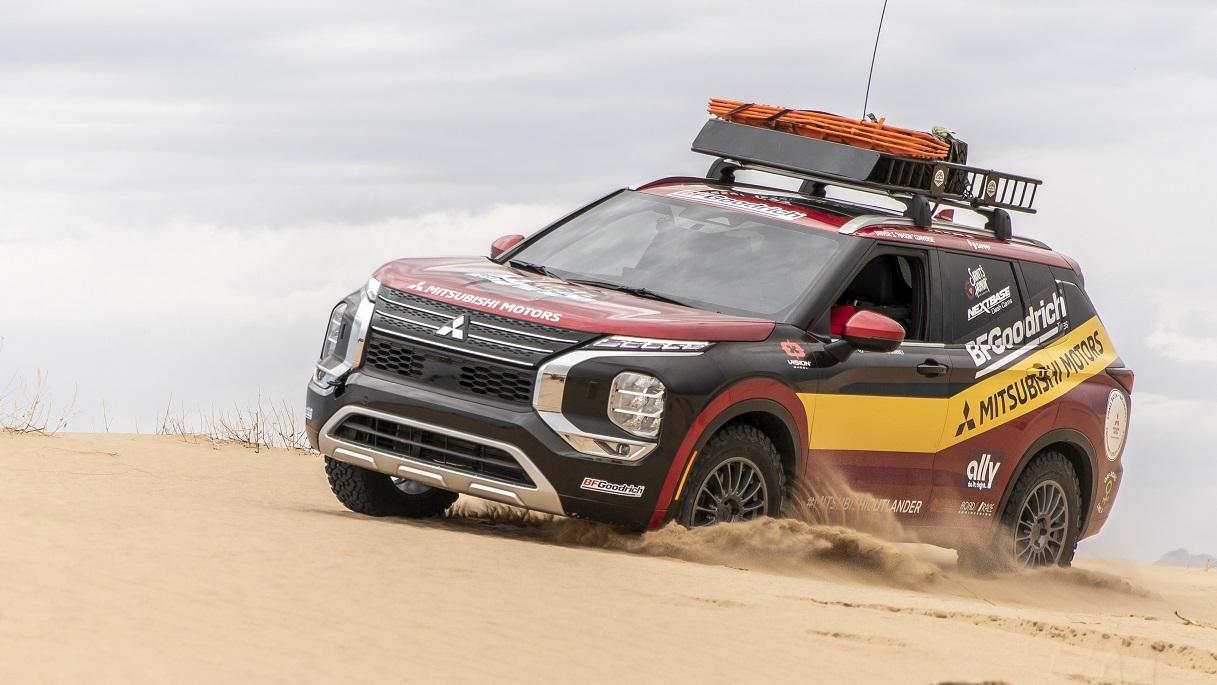 Mitsubishi Motors presentó el Outlander del 2022 para el Rally Rebelle 2021